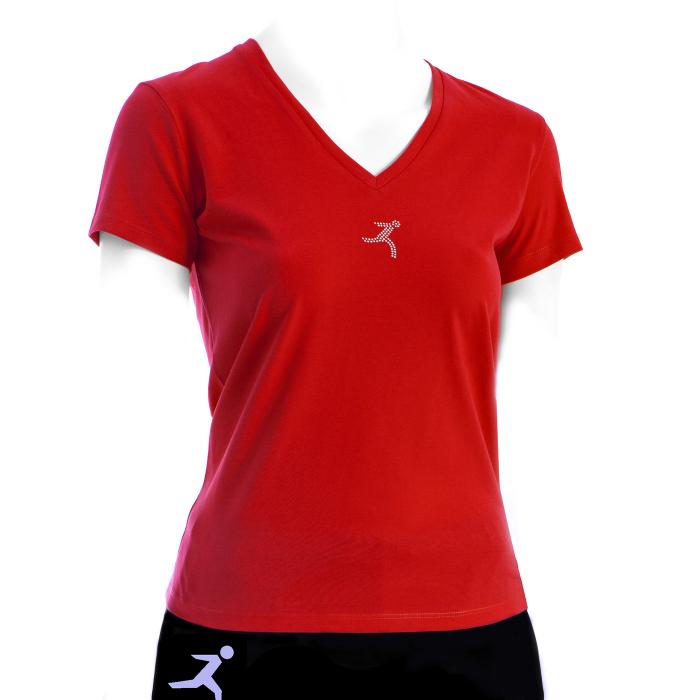 T-shirt da donna con strass