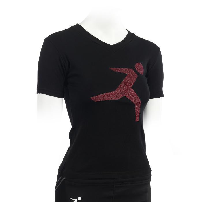 T-Shirt Glitter da donna